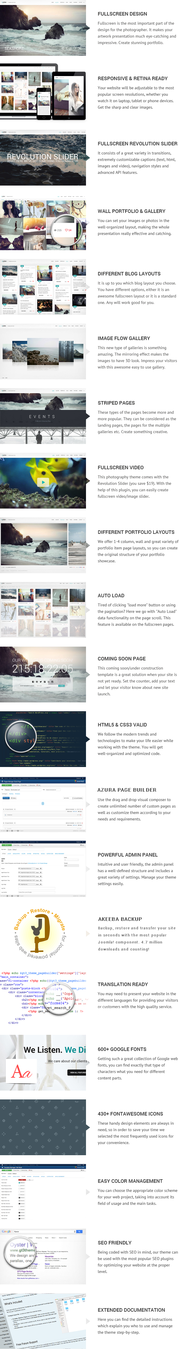 Oyster – Creative Photography Joomla Template - 3